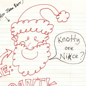 Santa's Naughty & Nice List for Me and My Twitter Friends