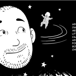 """""""To Be Born Again"""": In Touch Magazine's First Graphic Essay"""